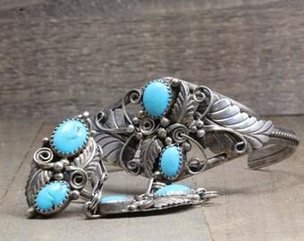 Turquoise Bracelet & Ring Combo