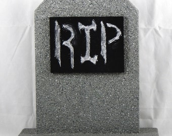 Halloween Chalkboard Gravestones for Yards & Parties