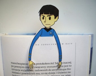 Spock Star Trek bookmark ornament