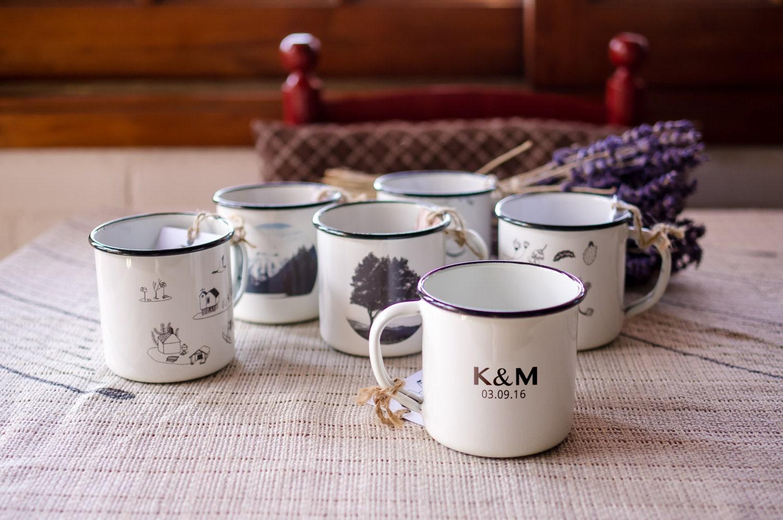 Coffee mug wedding favors -  Zoom