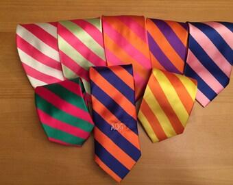 Monogrammed Tie - Men's Tie - Neckwear - Monogrammed Neck Tie - Custom Tie - Personalized Tie