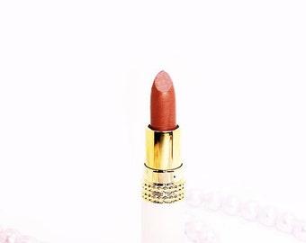 Organic Vegan Lipstick - Almond