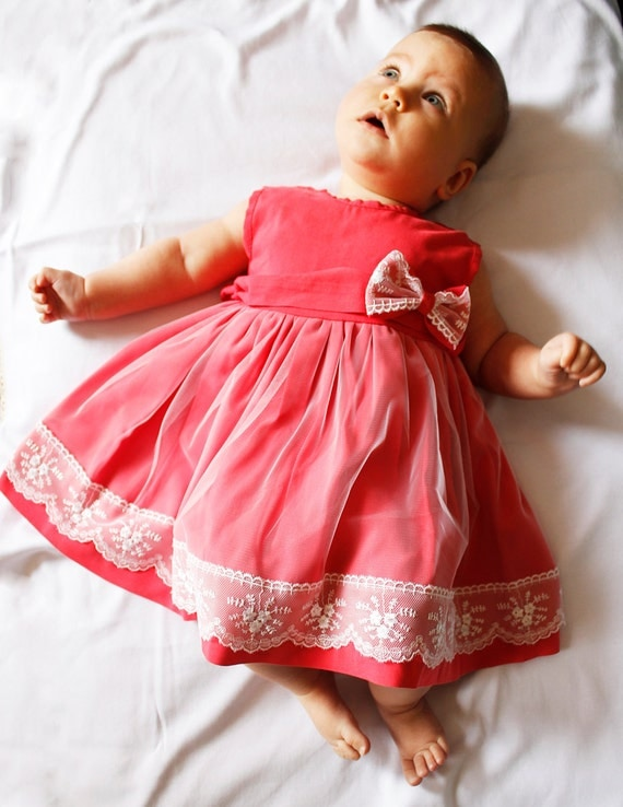 hot pink baby dress - photo #4