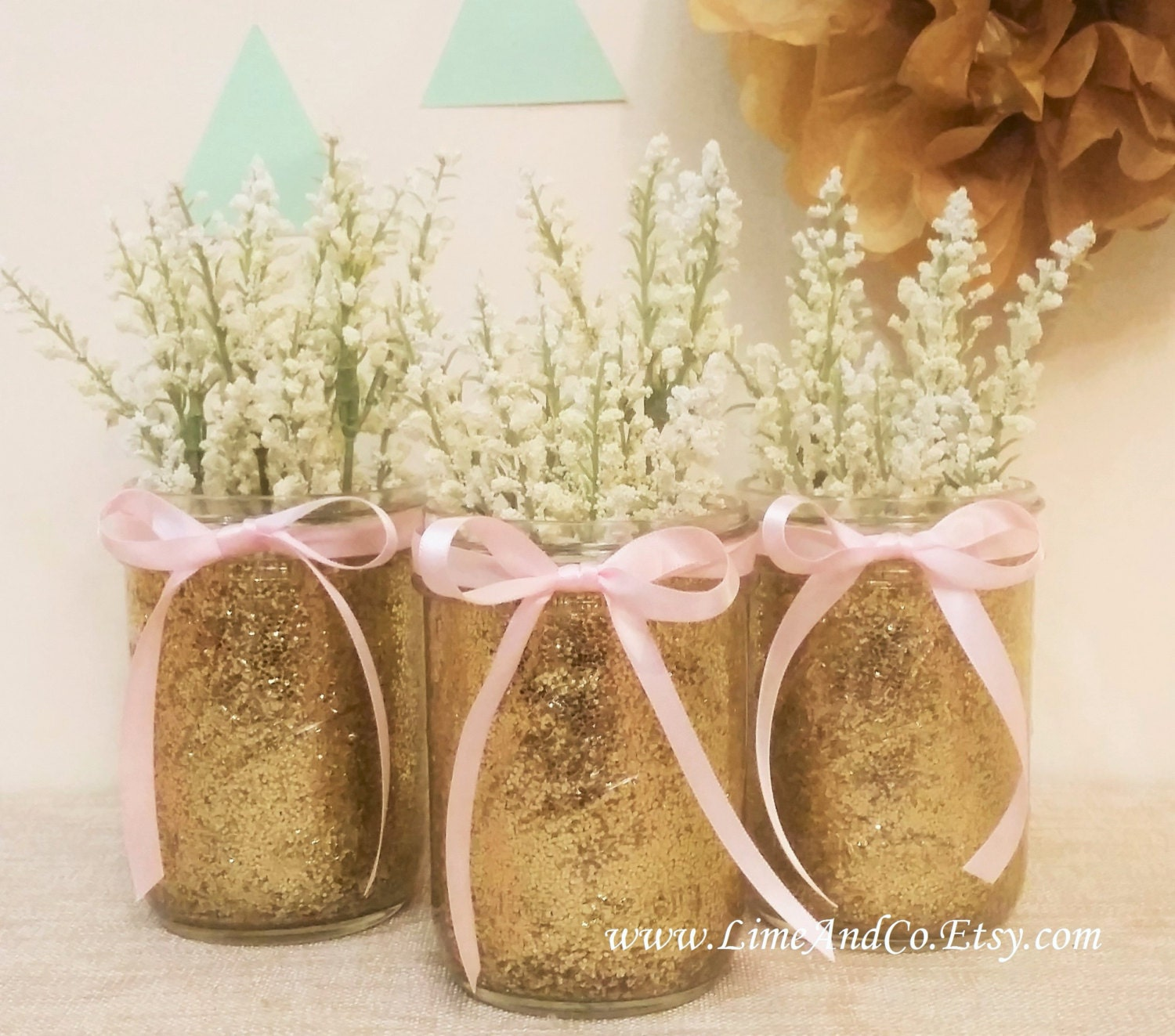 Baby shower decorations baby shower centerpieces bridal Wedding shower centerpieces