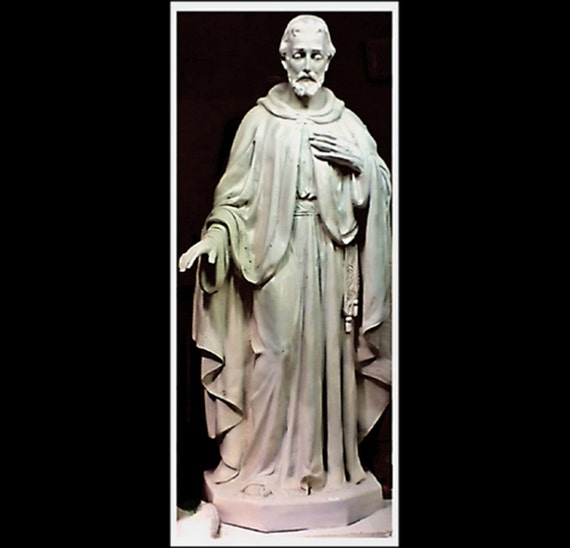 "St. Stephen 60"" Fiberglass Catholic Christian Religious Statue"
