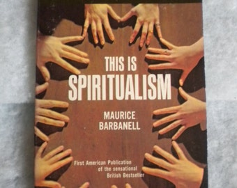 This is Spiritualism by Maurice Barbanell (Award/Tandem 1967) Paperback Book
