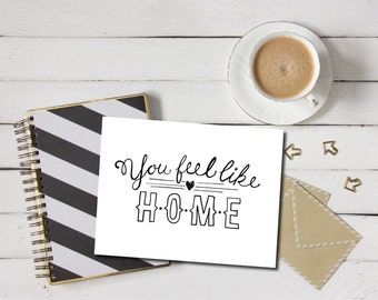 items similar to printable card welcome home country chair