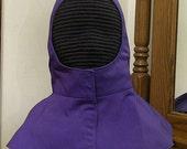 SCA Rapier Armor - Undermask Fencing Hood - Arming Cap - Gipsy Peddler