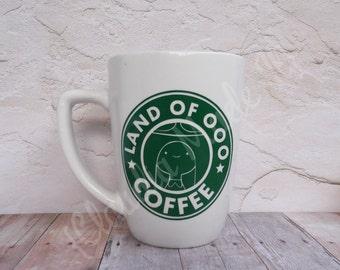 Land Of OOO Coffee, Princess Bubblegum, Adventure Time, Ceramic Mug, Tea, Coffee