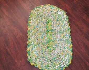 Crocheted Rag Rug JW13
