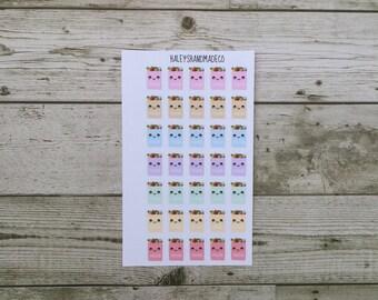 Kawaii Groceries Stickers