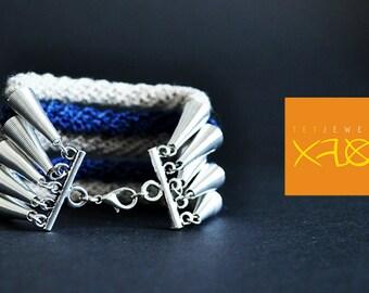 Linen bracelet. Boho style