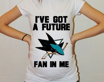 San Jose Sharks Baby San Jose Sharks Baby Boy Baby Girl Maternity Shirt Maternity Clothing Pregnancy New Baby Shower