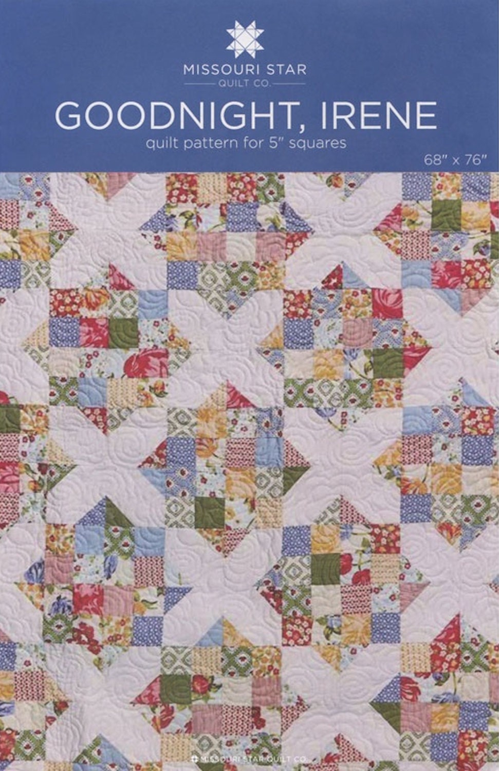 Msqc Goodnight Irene Quilt Pattern Charm Pack 5