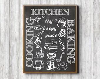 Kitchen Chalkboard | Etsy