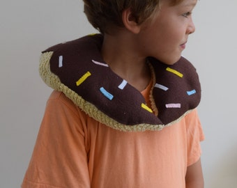 Handmade doughnut travel neck pillow / cushion