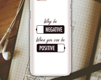 Snap Phone Case for Apple iPhone 6 Live By These Be Positive iPersonalised