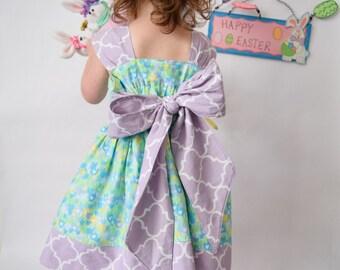 Toddler Spring Dress - Toddler Easter Dress - Girls Easter Dress - Girls Spring Dress
