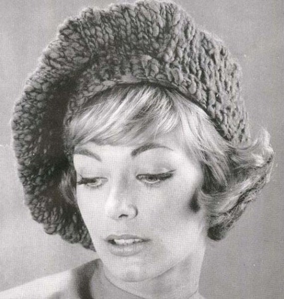 Meret Beret Knitting Pattern : Items similar to PDF Knitted Slouchy Beret Tam Hat Cap Beanie Knit Knitting P...