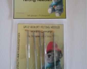 Groz Beckert Felting Needles 38 gauge-5pack