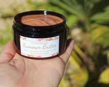 SummerButter -Shimmering body butter leaves your skin glowing with a sparkle! Made with shea & mango butters plus pure plant oils.