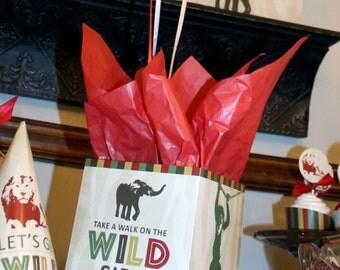 Safari Birthday Centerpiece, Jungle Birthday Centerpiece, Zoo Birthday Centerpiece, Safari Table Decoration