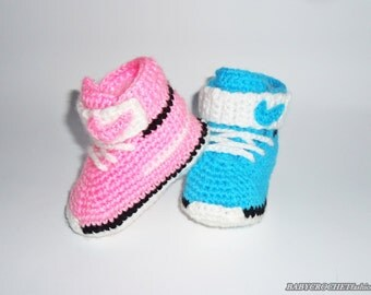 Crochet Baby Converse, Baby Shoes, Baby Converse, Nike Converse, Baby Nike Shoes, Baby Converse Slippers, Newborn Shoes,