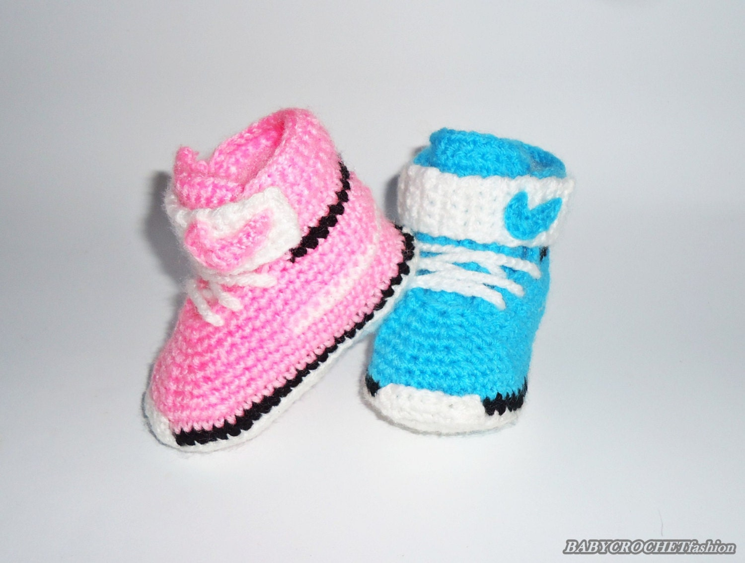 Crochet Baby Converse Baby Shoes Baby Converse Nike