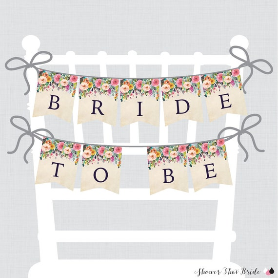 Canny image regarding free printable bridal shower banner