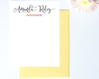 Mothers Day Gift, Gifts for Mom, Business Thank You Cards, Business Gifts, Entrepreneur Gift, Custom Stationary, Business Stationery Set