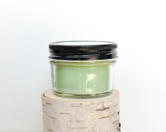 Lily & Lilac Candle    Hand Poured    Organic Soy Candle // 4 oz. Jar