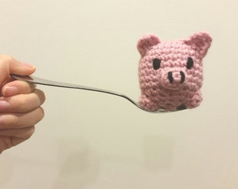 Teaspoon Piggy - Amigurumi