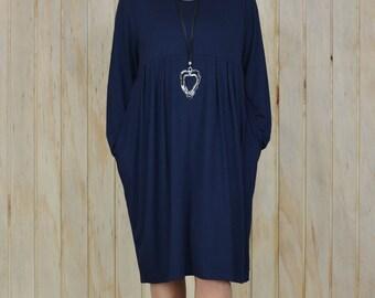 Lagenlook Dress Plus Size XL - XXXXL 16 18 20 22 24 26 28 30 Quirky Tunic Top NEW M37