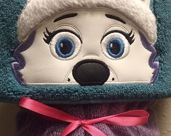 Everest Pup Hooded Towel - Hooded Towel - Towel - Pup Patrol - REDROCKCRAFTSWY