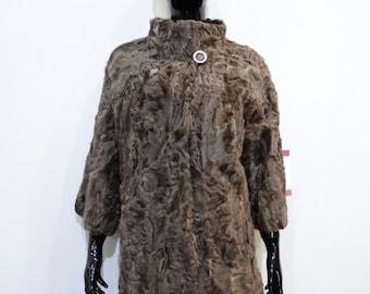 Real Fur Karakul jacket, astrakhan jacket, swakara coat,brown fur jacket,fur coat, astrakhan fur, swakara fur, real fur sales