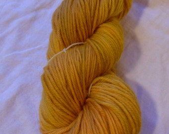 Marigold - Worsted- Hand-Dyed / Hand-Painted Yarn - Superwash Wool - Ready to Ship