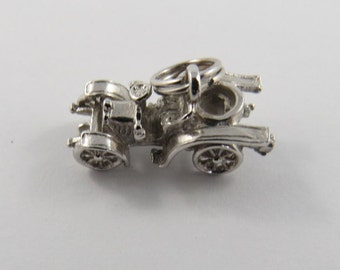 Jeep Sterling Silver Charm or Pendant.