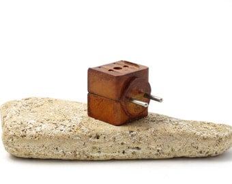 Vintage Bakelite Electric Plug - Triple Plug - Bakelite Electric Socket Adapter - Soviet Socket Adapter - Electrical Triple Plug - 1950 plug