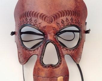 Dark Calavera Sugar Skull mask
