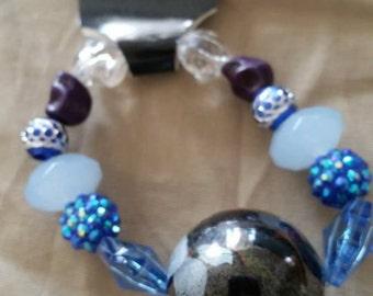 Giant Marble Blue Bracelet