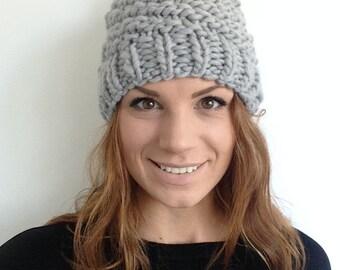Pom Pom Merino Wool Hat