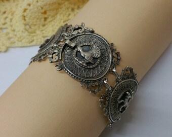 Bracelet costume jewelry Silver 925 Blachian SA280