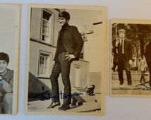 1964 Series 1 Beatles Trading Cards (3 John Lennon facsimile signed cards)
