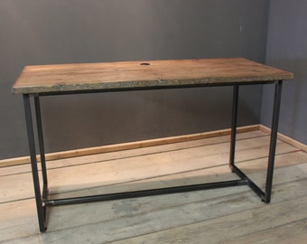 Box Steel Industrial Desk. (The Chisham)
