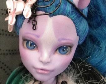 OOAK Doll - Avea Trotter - Monster High Repaint