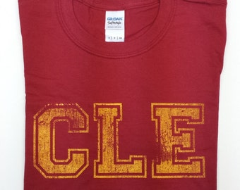CLE Vintage Cleveland Cardinal T-Shirt The Land (ohio fans grahic tee unisex adult oh 216)