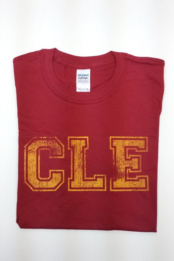 cle vintage cleveland cardinal t shirt the land ohio fans