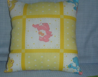 Teeny Tiny Carebear Pillow