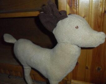 Prancing Stuffed Deer