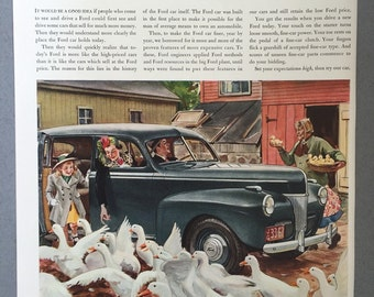 1941 Ford Print Ad